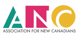Association for New Canadians logo