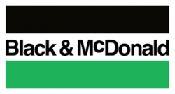Black and McDonald logo